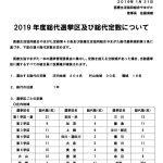 19年度総代選挙区・定数の公告のサムネイル